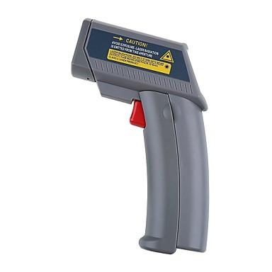 hyelec ms6530 sıcaklık tabancası temassız lcd ekran dijital kızılötesi termometre noktası -20 ~ 550 derece, termometro