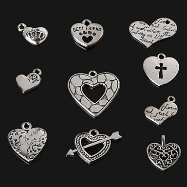 Szív Függők Amulettek - Szerelem Felfedező G H I J Függő Kompatibilitás