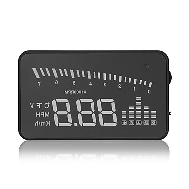 LED Head Up Display for Car Display KM / h MPH