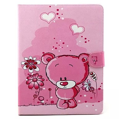 Case For iPad 4/3/2 with Stand Origami 360° Rotation Full Body Cases Cartoon PU Leather for iPad 4/3/2