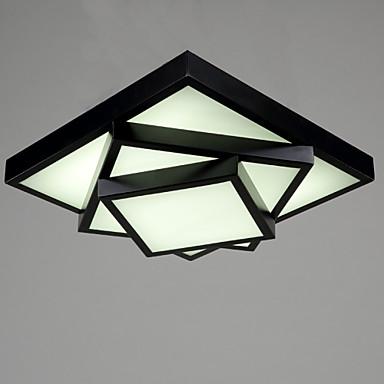 Unterputz Raumbeleuchtung - LED, 90-240V, Wärm Weiß / Weiß, Inklusive Glühbirne / 5-10㎡ / integrierte LED
