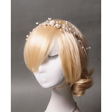 Imitation Pearl Acrylic Headbands 1 Wedding Special Occasion Casual Headpiece