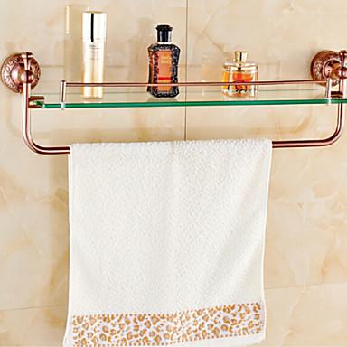 Bathroom Shelf Neoclassical Brass Zinc Alloy 1 pc - Hotel bath
