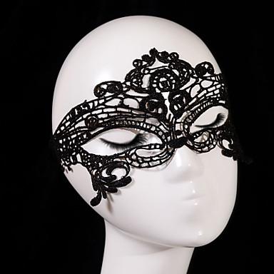 Renda Decoração de Cabelo / Máscaras com Floral 1pç Casamento / Ocasião Especial Capacete