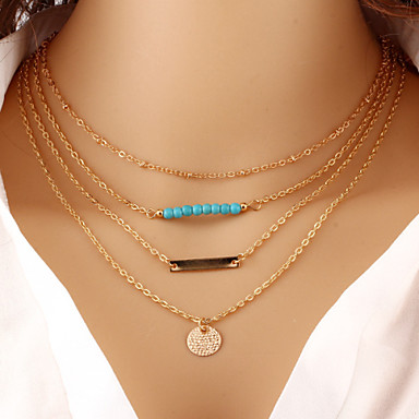 Women's Shape Vintage Casual Fashion Brass Turquoise Special Occasion Birthday Gift