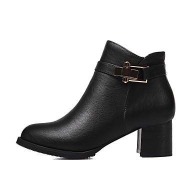 51ca3dcbee76 ... Evénement Bottine Amande Talon Hiver Femme Habillé 04640235 Pour  Chaussures Avec Gros Botte Soirée Noir Demi ...