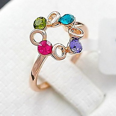 The More Happiness Ferris Wheel Color Diamond Ring