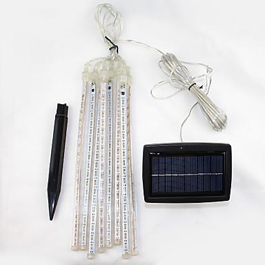 1pc Dekorasyon Işıkları Güneş Enerjisi Şarj Edilebilir / Su Geçirmez