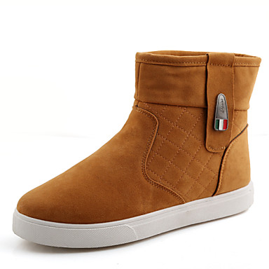 Men's Shoes Outdoor / Office & Career / Party & Evening / Athletic / Casual Fashiuon Boots Black / Gray / Khaki