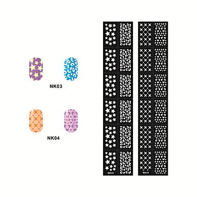 Hollow Out Nail Art Stickers NK03-04(2PCS)