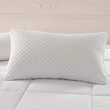 Yatak Yastığı , Beyaz % 100 Sentetik Mikrofiber