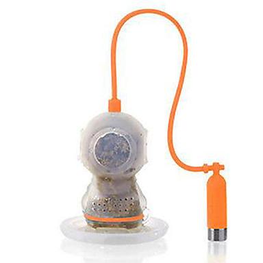 dyp te dykker te infuser søt scuba løs blad silikon krus kopp filter filter