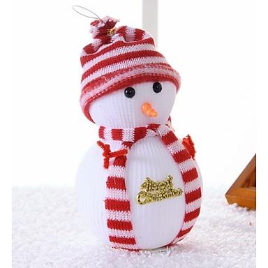 natal boneco de neve de Natal cena decoração da árvore fornece a boneca