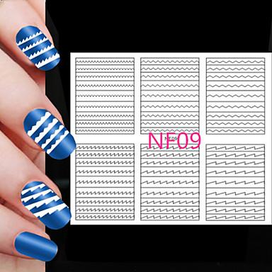 5X108PCS Different Sizes Professional Making Pattern Nail Art Tool