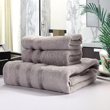 Taze Stil Banyo Havlusu Seti,Boyalı Desenler Üstün kalite %100 Bambu Fiber Örgü Havlu