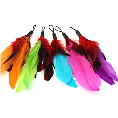 Cat Cat Toy Pet Toys Teaser Feather Toy Candy Textile For Pets