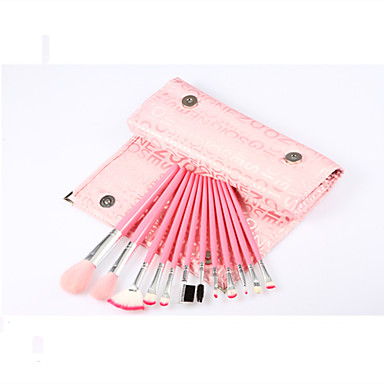 12Sponge Applicator / Foundation Brush / Makeup Brushes Set / Blush Brush / Eyeshadow Brush / Lip Brush / Brow Brush / Liquid Eyeliner
