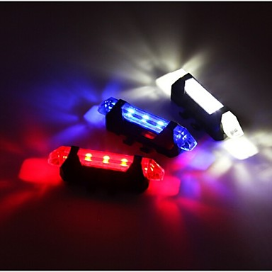 Rear Bike Light Safety Lights - Cycling Waterproof Easy Carrying Warning Other 15 Lumens USB Red Cycling/Bike