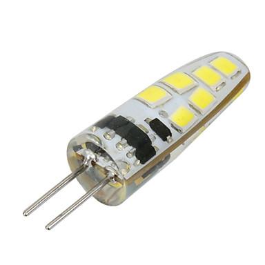 G4 Upotetut valaisimet Upotettu jälkiasennus 12 LEDit SMD 2835 Koristeltu Lämmin valkoinen Kylmä valkoinen 100-200lm 3500/6500K DC 12 AC