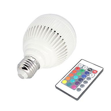 E27 Светодиодная лампа Bluetooth 3.0 Беспроводные колонки Bluetooth Белый
