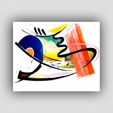 kézzel festett absztrakt / híres / csendélet / fantasy / szabadidő stílus / modern / realizmus olajfestmény, vászon egy panel