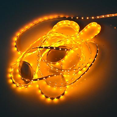 5m 5W 300x3528 SMD galben de lumină flexibil strip lampă cu LED-uri (12V DC)