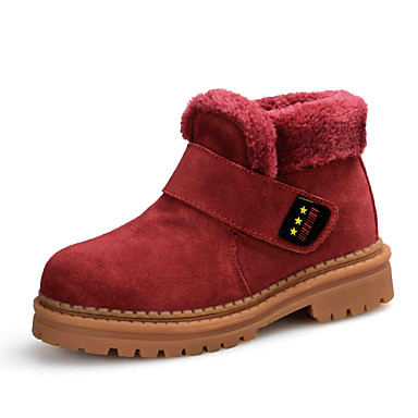 Girls' Shoes Outdoor / Athletic / Dress / Casual Comfort / Synthetic Fashion Sneakers Blue / Brown / Yellow / Burgundy