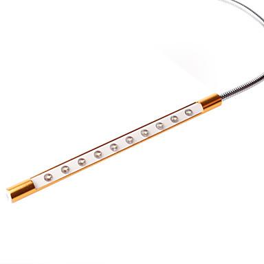 usb luz metal olho palpável protegido superfície dourada