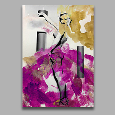 Fashion IARTS CULTURE Handmade Stretched Handmade Oil Painting For Xmas Whosale Price