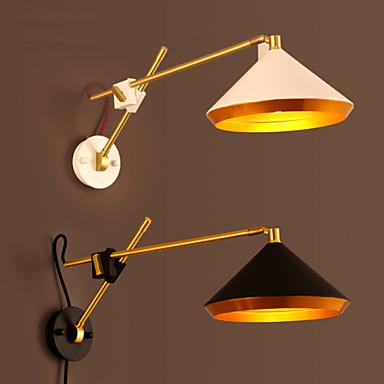 Rustic/Lodge Swing Arm Lights For Metal Wall Light 220V