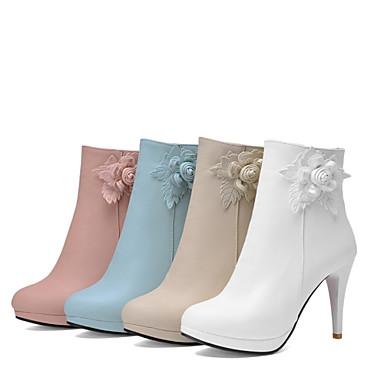 Demi Amande 10 Synthétique Talon Femme Escarpin Aiguille Rose Basique 15 cm Botte 24 clair Bleu 16 Hiver 04699108 Chaussures Bottine nUwOq0x5OA