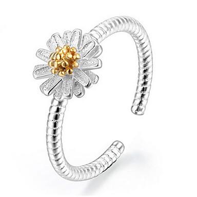 Gyűrűk Állítható Parti / Napi / Hétköznapi Ékszerek Ezüst Női Karikagyűrűk 1set,Állítható