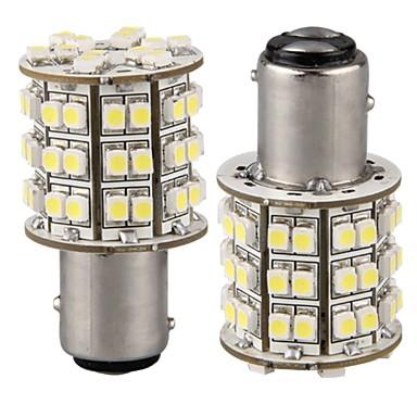 povoljno Svjetla za automobil-2pcs 1157 Automobil Žarulje SMD 3528 60 LED Stražnje svjetlo For Univerzális