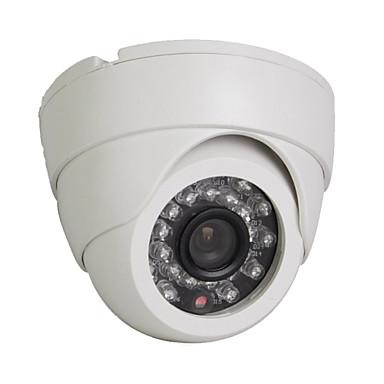 1/3 Sony HD CMOS 1200tvl / 960h 24leds IR-cut CCTV dóm biztonsági kamera fehér ügyben