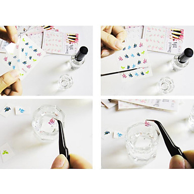 1 3D Nail Stickers Fashion Lovely Wedding Punk Daily High Quality