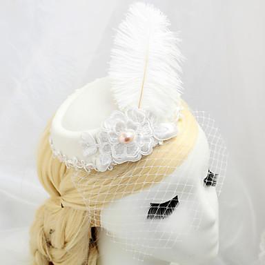 Feder Stoff Netz Vogelkäfig Schleier 1 Hochzeit Besondere Anlässe Kopfschmuck
