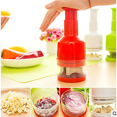 Kitchen Tools Stainless Steel / Stainless Steel + Plastic / ABS Fruit & Vegetable Tools Manual Cutters / Fruit & Vegetable Tool / Slicer Garlic / Onion / Ginger 1pc