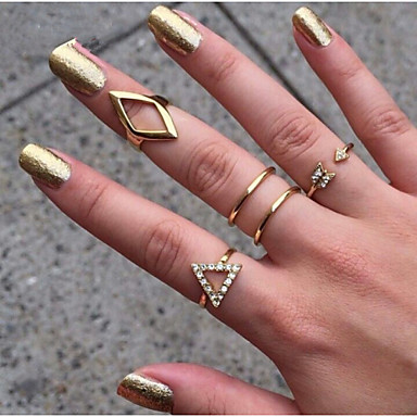 Women's Jewelry Set - Alloy Adjustable Golden For Party / Daily / Casual