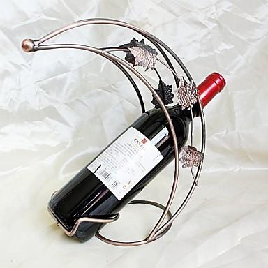 metal željezo obrt nositelj vino polumjesec u obliku modne kreativni domaćeg vina ukras stalak bronca zlatna boja