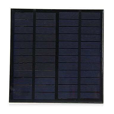 3W 12V könnyű polikristályos szilícium napelem DIY töltő