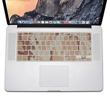 terepszínű tervezési szilikon billentyűzet fedél bőr MacBook Air 13,3, MacBook Pro Retina 13 15 17 minket elrendezés