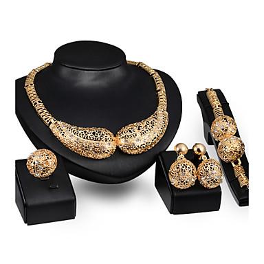 Női Nyilatkozat nyakláncok 18K arany Divat nyilatkozat ékszerek Ékszerek Különleges alkalom Születésnap