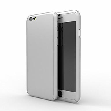 Case Kompatibilitás Apple iPhone 8 iPhone 8 Plus iPhone 6 iPhone 6 Plus Ütésálló Héjtok Tömör szín Kemény PC mert iPhone 8 Plus iPhone 8