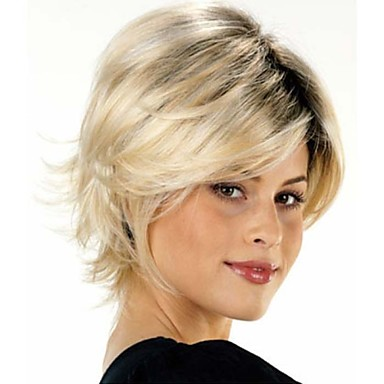 Synthetic Wig Straight Women's Capless Carnival Wig Halloween Wig Short Synthetic Hair