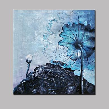 Pintados à mão Paisagem Quadrada, Modern Tela de pintura Pintura a Óleo Decoração para casa 1 Painel