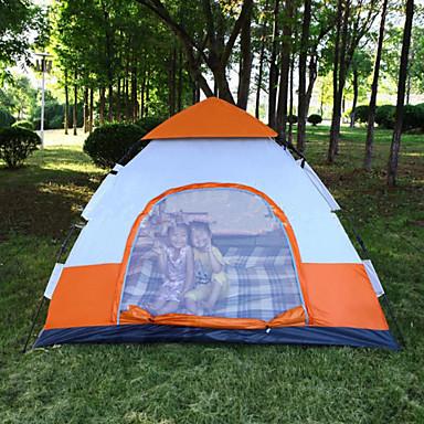 3-4 Pessoas Tenda Único Barraca de acampamento Um Quarto Tenda Dobrada Manter Quente Insulação de Calor Á Prova de Humidade Bem Ventilado