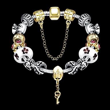 Žene Gipke i čvrste narukvice Narukvice s privjeskom Jedinstven dizajn kostim nakit Moda Perlice Festival/Praznik Glina Jewelry Lopta