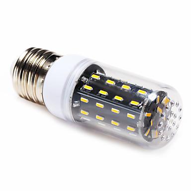 4 W 3000-6000 lm E14 E26/E27 LED kukorica izzók T 56 led SMD 4014 Meleg fehér Természetes fehér AC 220-240V