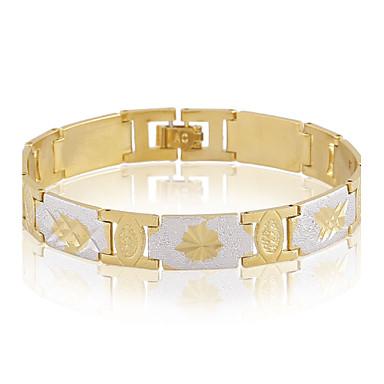 Bracelet Chaînes & Bracelets Alliage / Cuivre Mariage / Soirée / Décontracté Bijoux Cadeau Doré,1pc