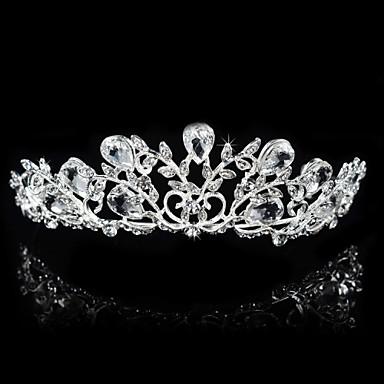 alloy tiaras headpiece esküvői party elegáns klasszikus női stílusban